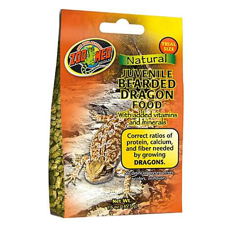 Zoo Med Gourmet Juvenile Bearded Dragon Food