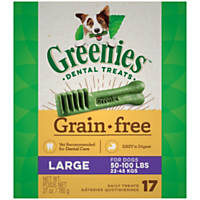 Greenies Grain Free Large Dental Treats