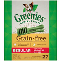 Greenies Grain Free Regular Dental Treats