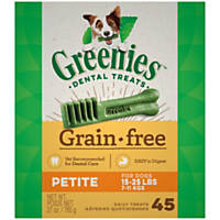 Greenies Grain Free Petite Dental Treats