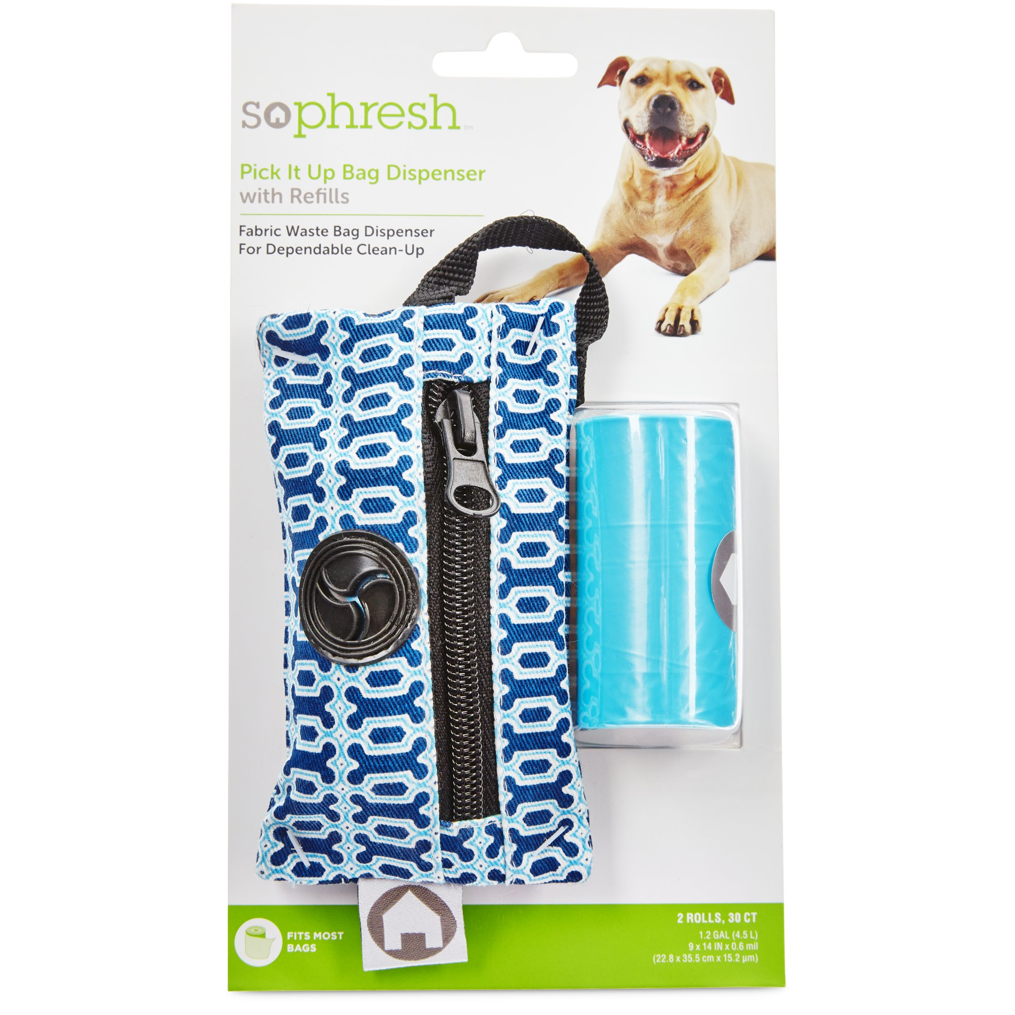 So Phresh Printed Fabric Bag Dispenser | Petco