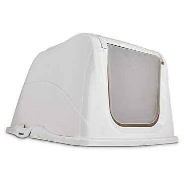 So Phresh Flip Top Cat Litter Box Hood in White