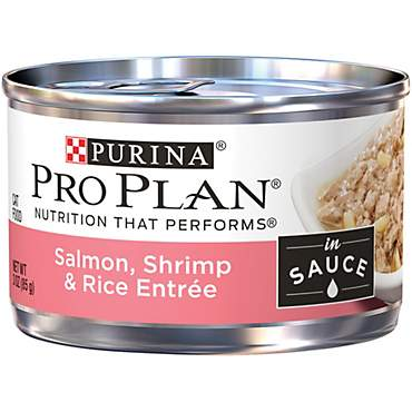 Pro Plan Savor Salmon, Shrimp & Rice Entree Adult Canned Cat Food