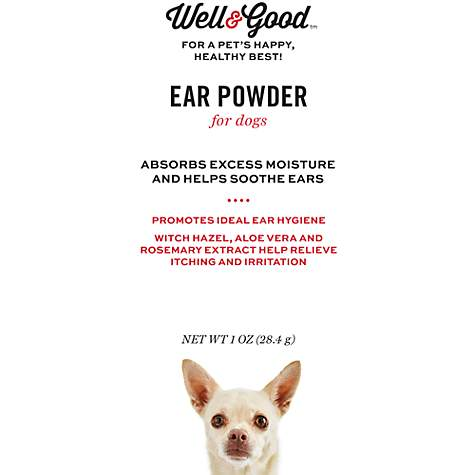 Well & Good Dry Ear Powder for Dogs, 1 oz