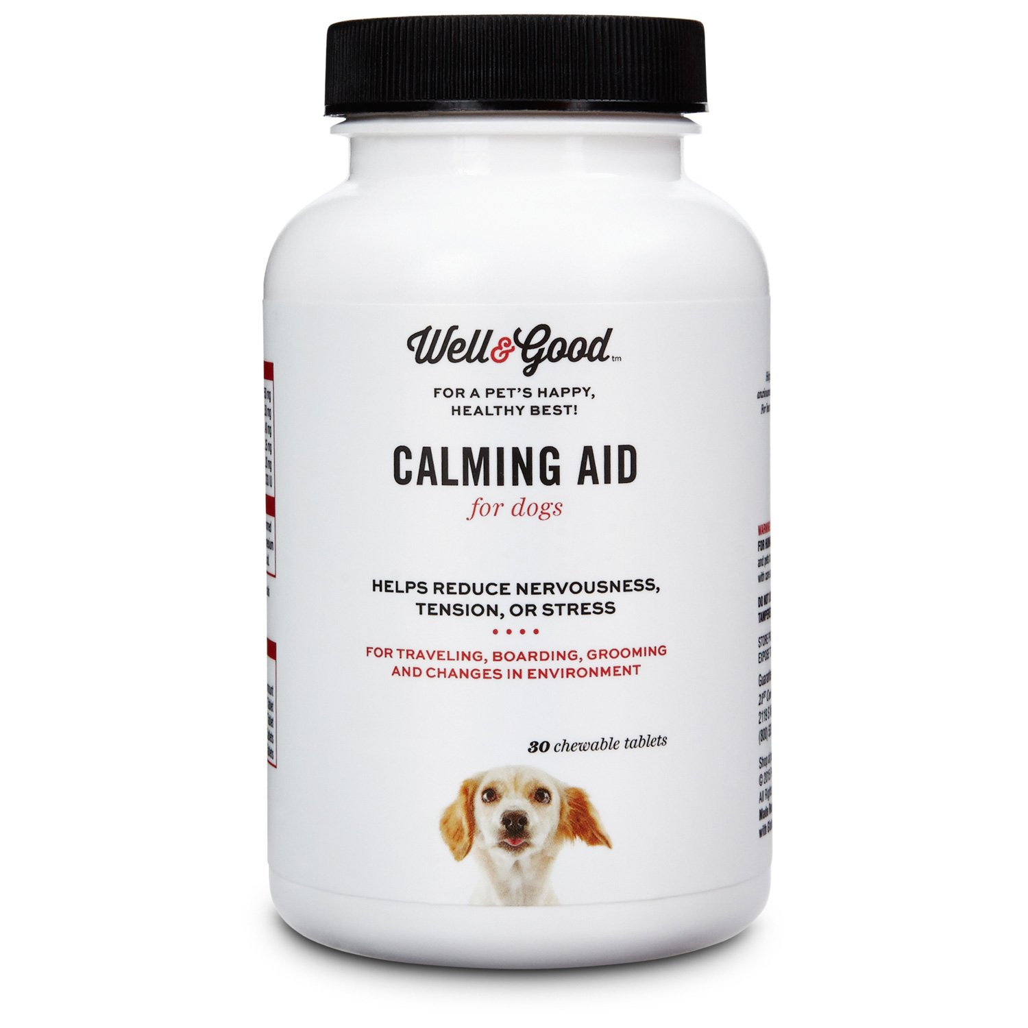Well Amp Good Calming Aid Dog Tablets Petco