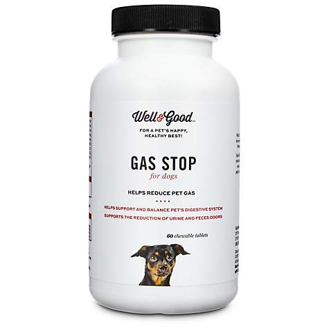 Well & Good Gas Stop Dog Tablets