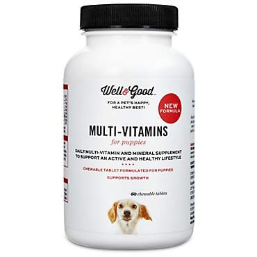 Well & Good Puppy Stage Vitamins
