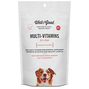 Well & Good Adult Stage Daily Soft Chews Dog Vitamins