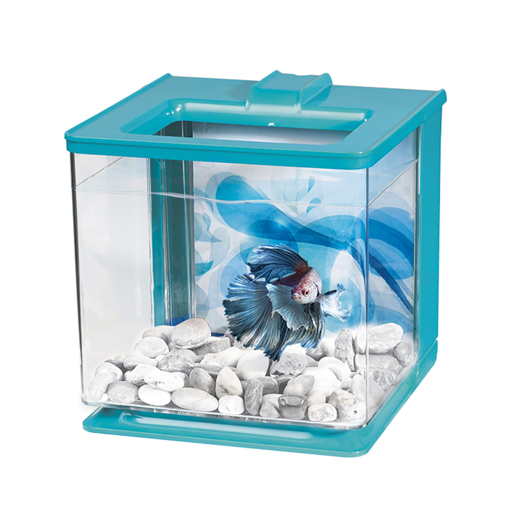 Marina betta ez care blue aquarium kit petco for Betta fish tanks petco