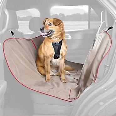 Kurgo Heather Hammock Tan Dog Car Seat Cover