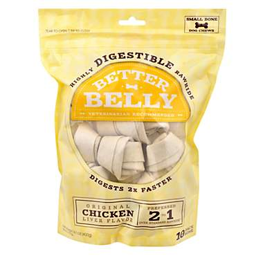 Better Belly Chicken Rawhide Small Dog Chews