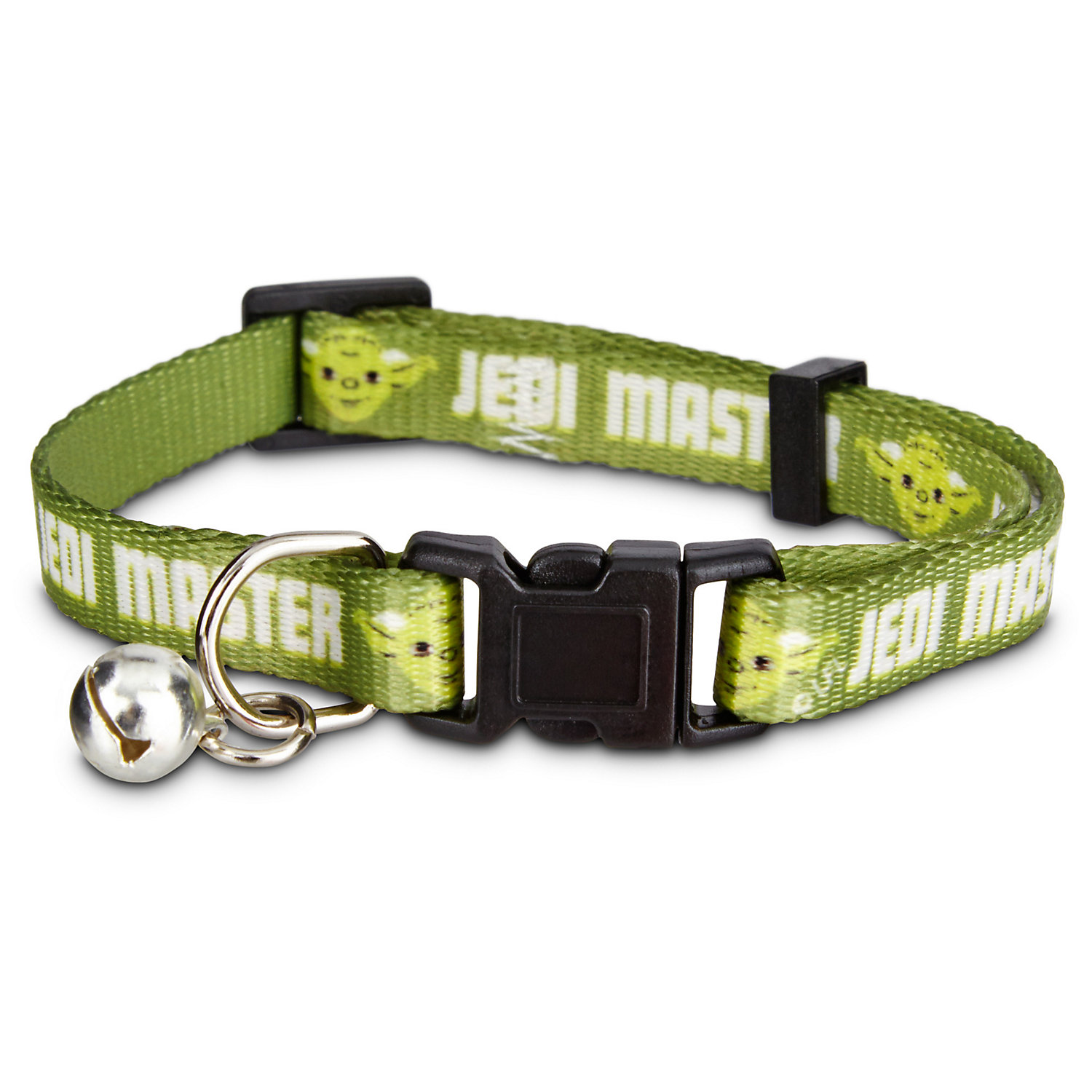 Star Wars Jedi Master Cat Collar For Necks 8 12 One Size Fits All Green