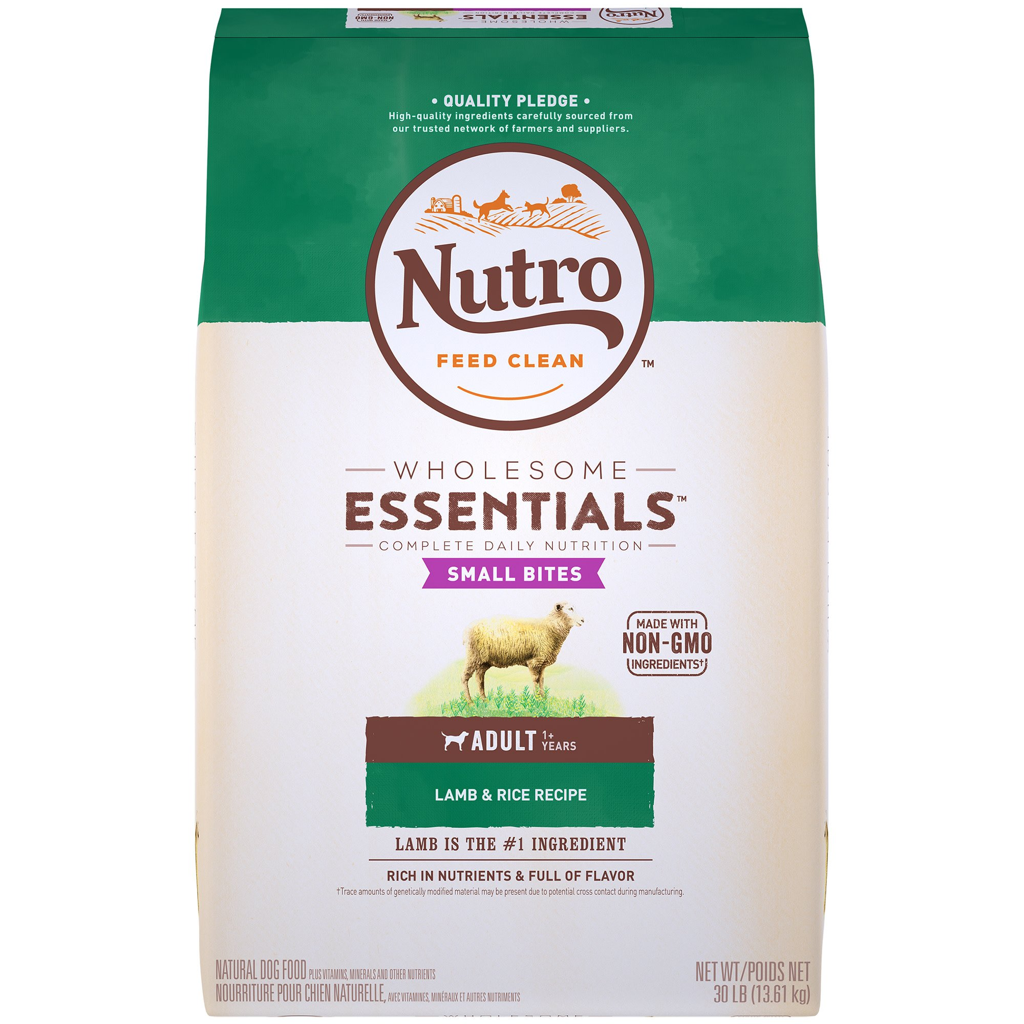 Nutro Large Breed Adult Dog Food Natural Lamb Rice