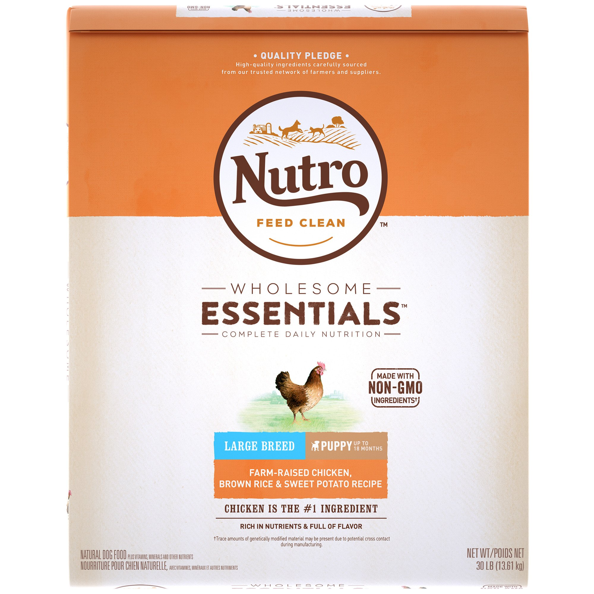 Nutro wholesome essentials farm raised chicken brown rice sweet nutro wholesome essentials farm raised chicken brown rice sweet potato recipe dry large breed puppy food petco forumfinder Images