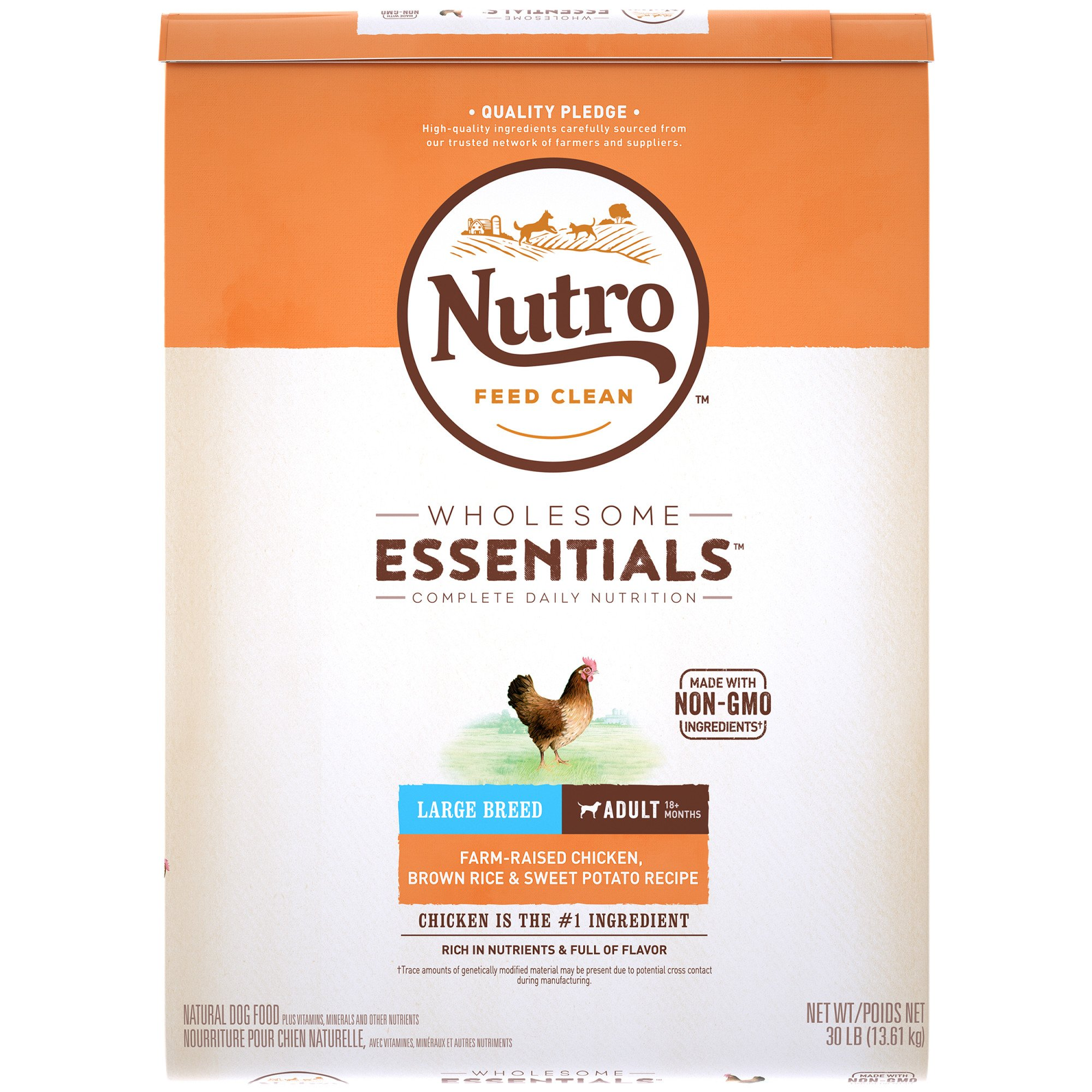 Clean Wholesome: Nutro Wholesome Essentials Farm-Raised Chicken, Brown Rice
