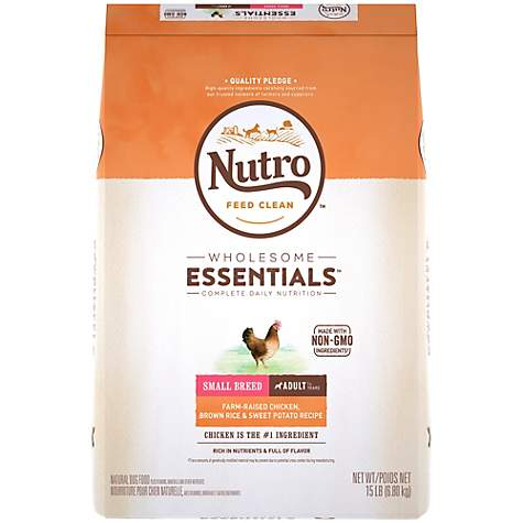 Nutro Wholesome Essentials Farm-Raised Chicken, Brown Rice & Sweet Potato Recipe Dry Small Breed Adult Dog Food