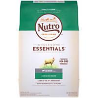 NUTRO WHOLESOME ESSENTIALS Pasture-Fed Lamb & Rice Recipe Dry Senior Dog Food