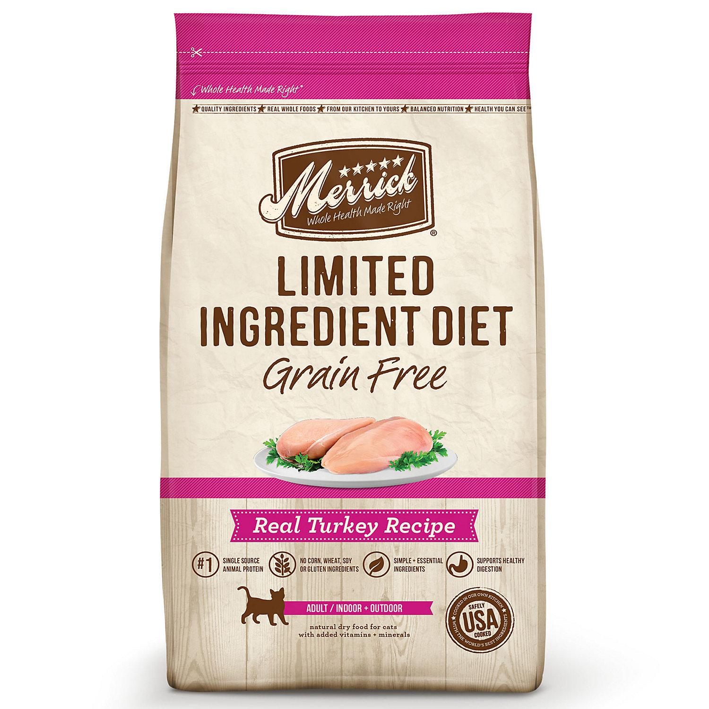 Merrick Limited Ingredient Diet Grain Free Turkey Cat Food