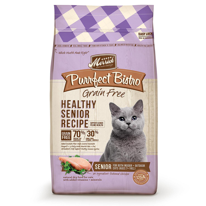 Merrick Purrfect Bistro Grain Free Healthy Senior Cat Food
