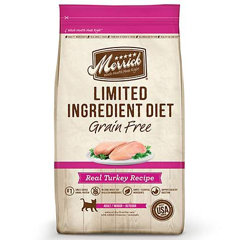 Merrick Limited Ingredient Diet Grain Free Turkey Dry Cat Food
