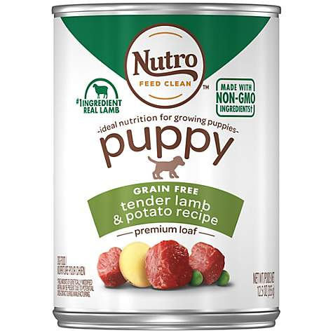 Nutro Wholesome Essentials Tender lamb & Rice Recipe Pate Canned Wet Puppy Food