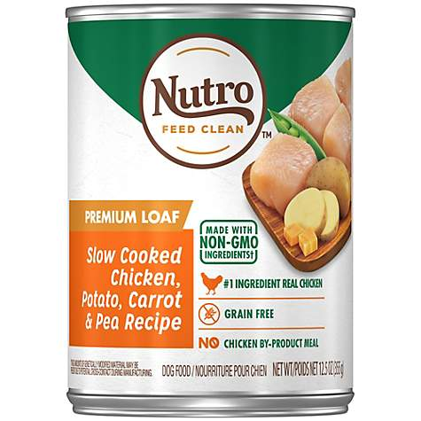NUTRO KITCHEN CLASSICS Slow Cooked Chicken, Rice & Oatmeal Dinner Premium Canned Adult Wet Dog Food