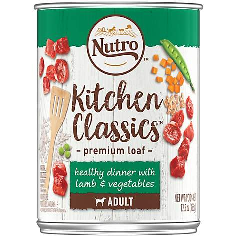 Nutro Kitchen Classics Healthy Dinner with Lamb & Vegetables Premium Loaf Canned Adult Wet Dog Food