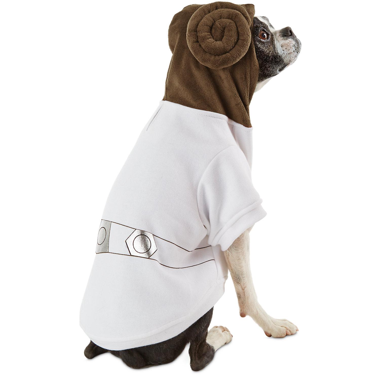 STAR WARS Princess Leia Dog Hoodie, Medium ()