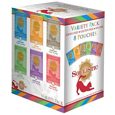 Soulistic Original Recipes Variety Pack Wet Cat Food