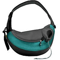 Wacky Paws Large Pet Sling Pet Carrier in Teal
