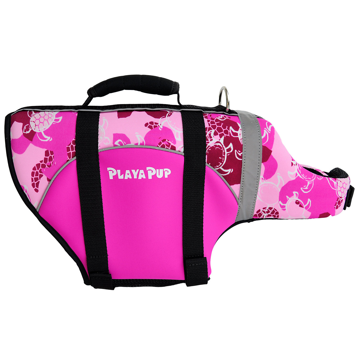 Image of Playa Pup Pink Dog Flotation Vest, Medium
