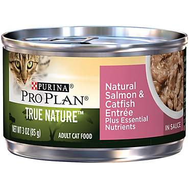Pro Plan True Nature Salmon & Catfish Adult Canned Cat Food