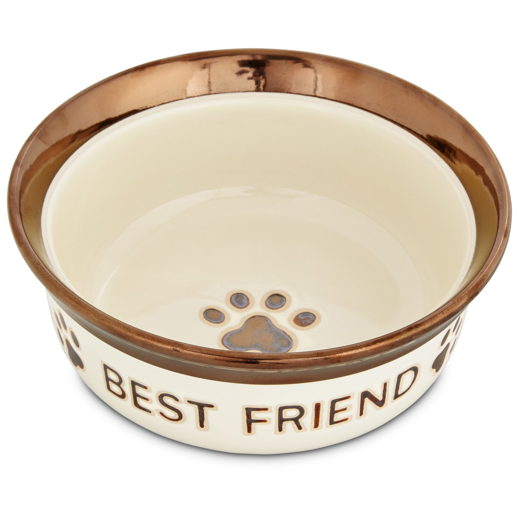 Harmony Best Friend Ceramic Dog Bowl Petco