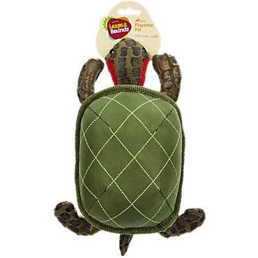 Leaps &  Bounds Medium Wildlife Turtle Plush Toy