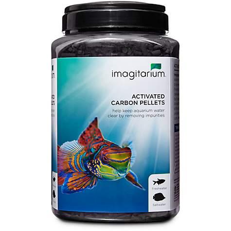 imagitarium activated carbon pellet petco