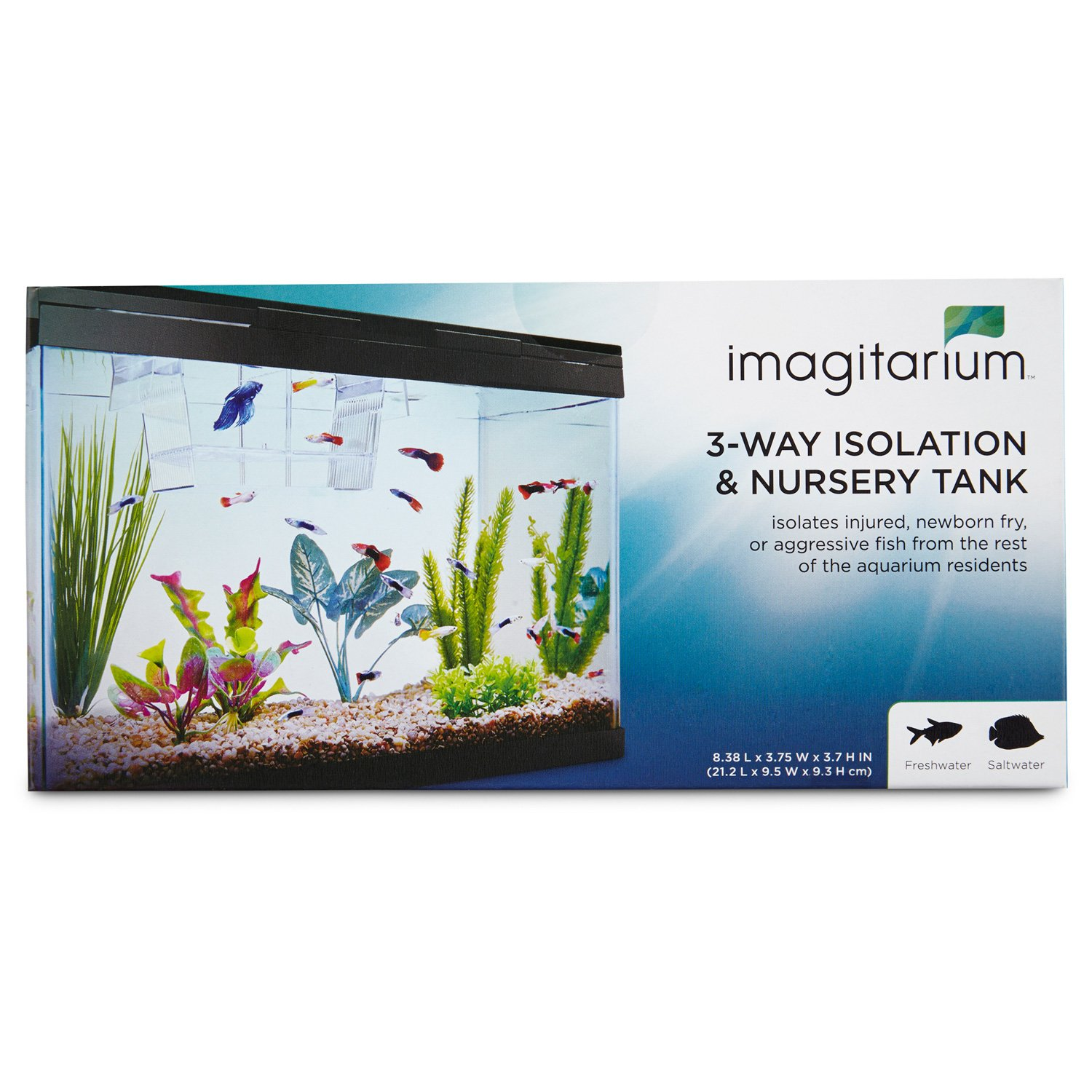 Imagitarium Isolation Amp Breeder Fish Tank Petco