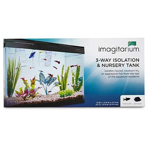 Imagitarium Isolation & Breeder Fish Tank, 8 4
