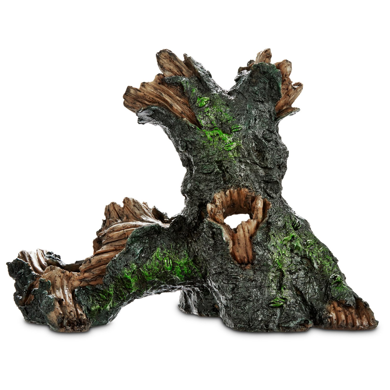 Imagitarium large tree log aquatic decor petco for Aquarium log decoration