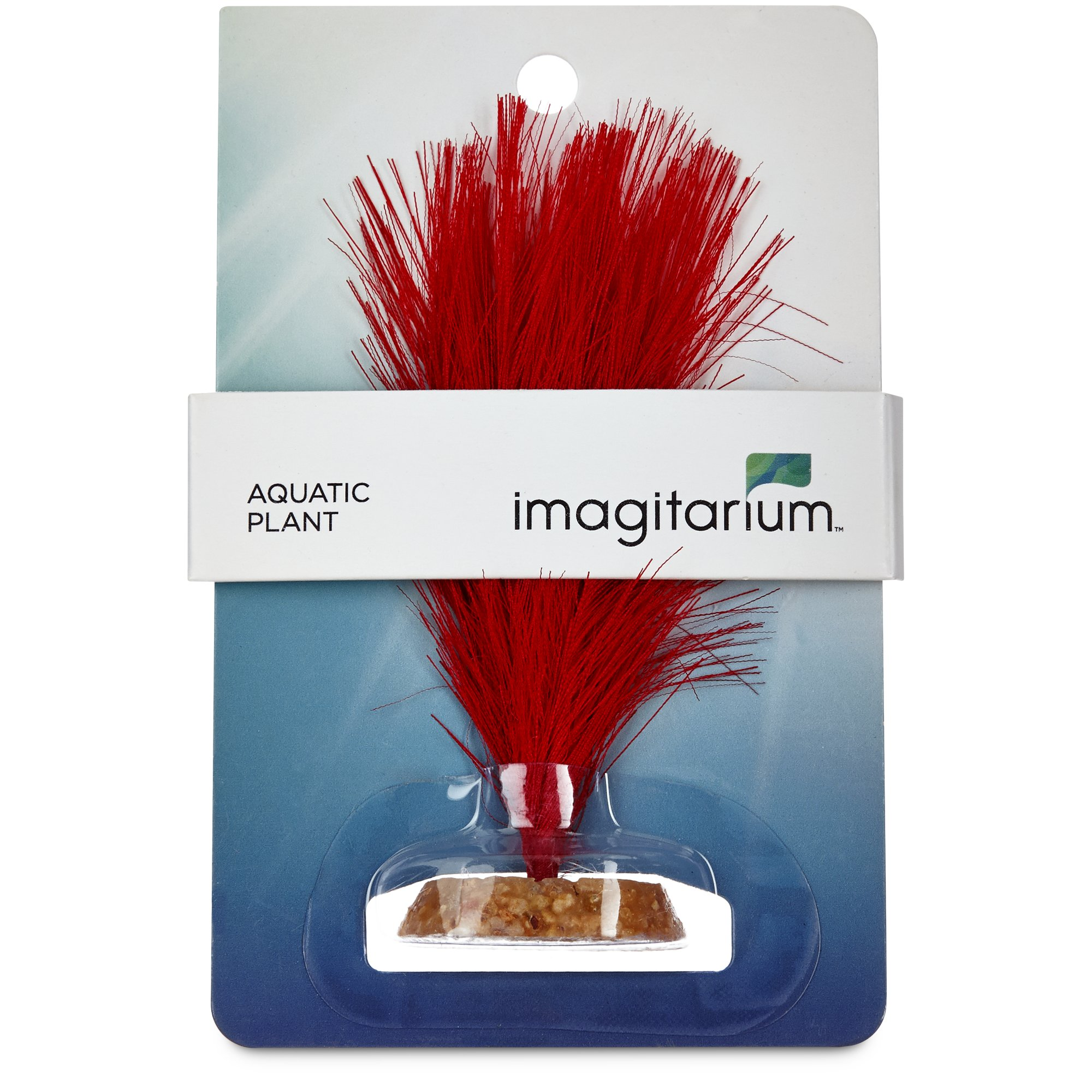 Imagitarium feather silk plant aquatic decor petco for Aquatic decoration