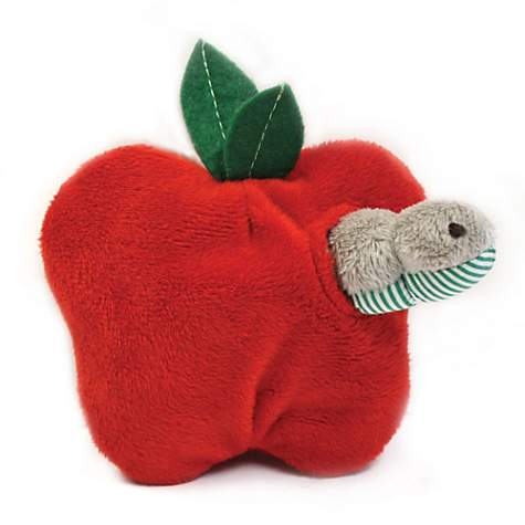 Petlinks System Hide & Peek Apple & Worm Catnip Toy
