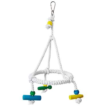 You & Me Round Rope Bird Swing
