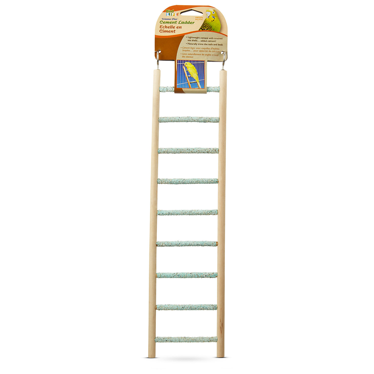 Penn Plax Cement Bird Ladder 15 H