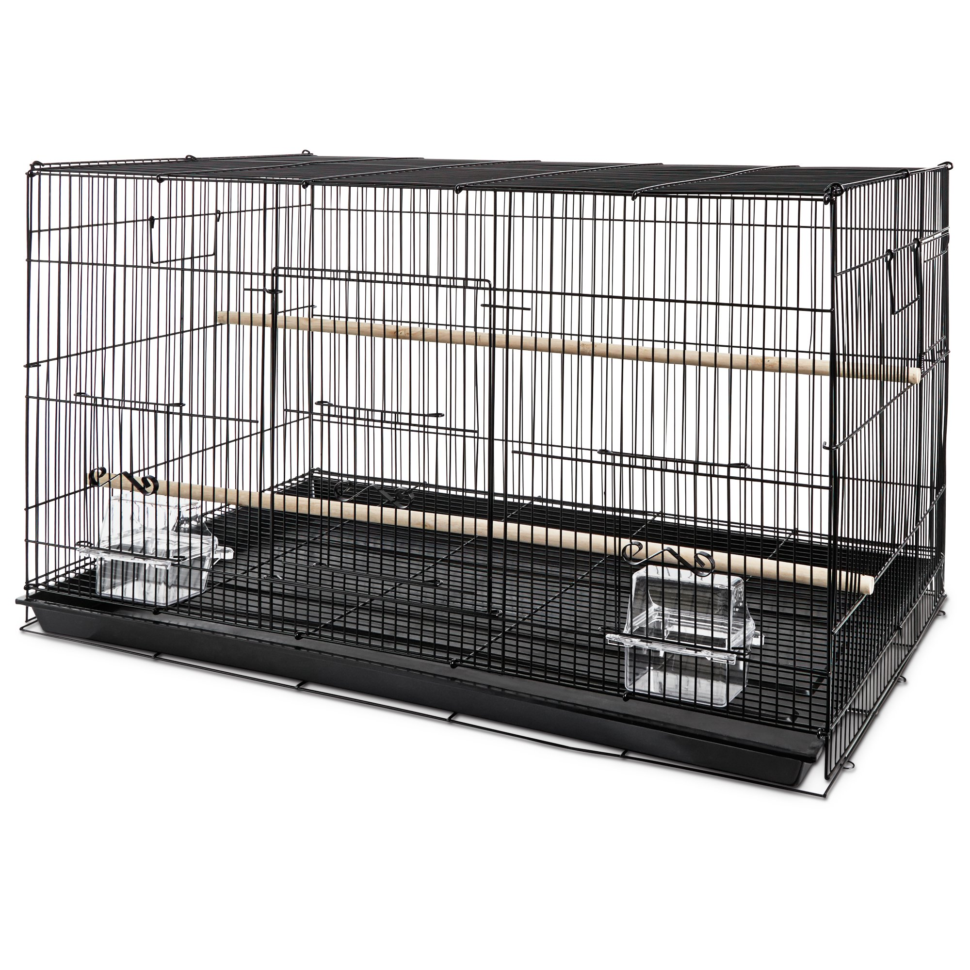 you amp me finch rectangle flight cage petco