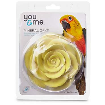 You & Me Rose Mineral Bird Cake