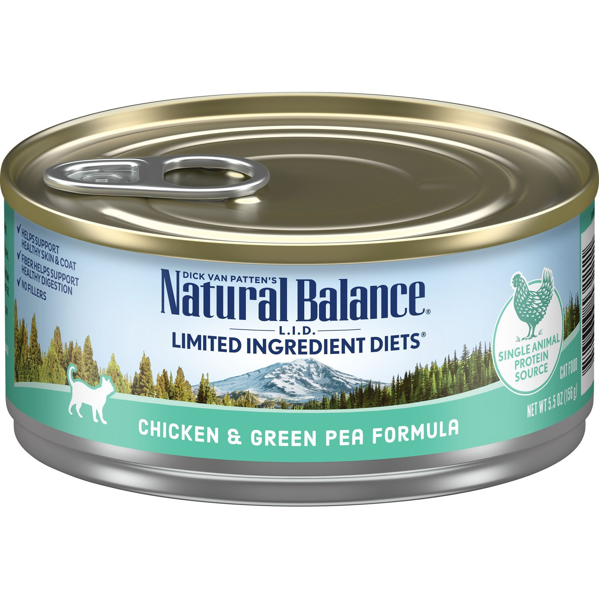 Natural Balance Chicken And Green Pea Canned Cat Food