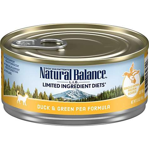 Natural Balance L I D Limited Ingredient Diets Duck Green Pea Wet