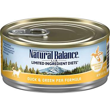 Natural Balance L.I.D. Limited Ingredient Diets Duck & Green Pea Wet Cat Food