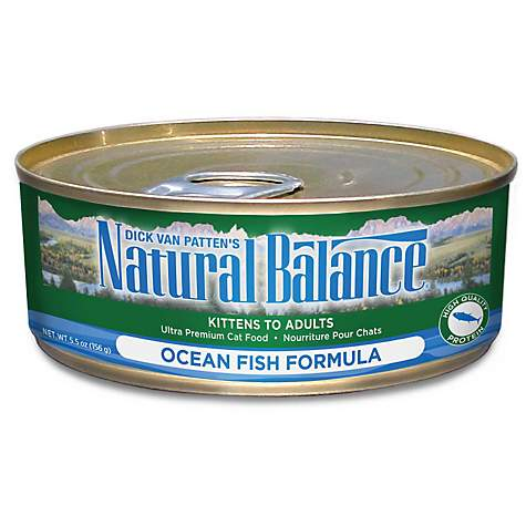 Natural Balance Ultra Premium Ocean Fish Wet Cat Food Petco