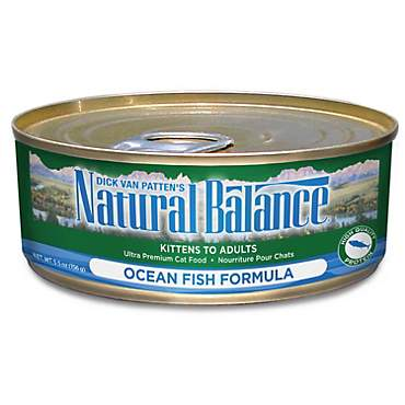 Natural Balance Ultra Premium Ocean Fish Wet Cat Food