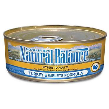 Natural Balance Ultra Premium Turkey & Giblets Wet Cat Food